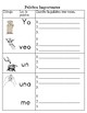 Benchmark Adelante Sight word writing pages with visuals for each sight word
