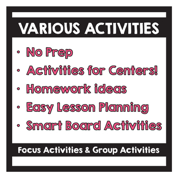 Benchmark Advance - 1st GRADE Unit 3 Week 1 - Maps for Thinking & Activities