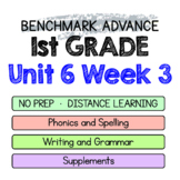 Benchmark Advance - 1st GRADE Unit 6 Week 3 - Thinking Maps & Activities