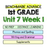 Benchmark Advance - 1st GRADE Unit 7 Week 1 - Thinking Maps & Activities