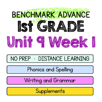 Benchmark Advance - 1st GRADE Unit 9 Week 1- Maps for Thinking & Activities