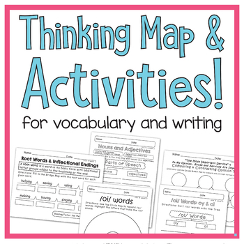 Benchmark Advance - 1st GRADE Unit 9 Week 2- Maps for Thinking & Activities