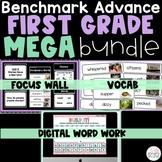 Benchmark Advance 1st Grade Bundle CA   Focus Wall Google Slides