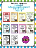 Benchmark Advance 1st Grade ELD Bundle Units 1-10