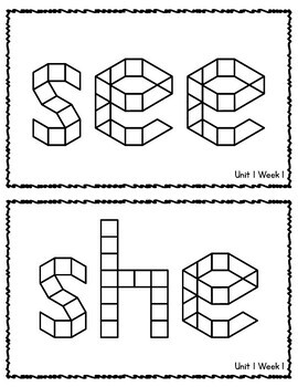 Benchmark Advance 1st Grade HFW Pattern Block Mats