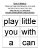 Benchmark Advance 1st Grade High Frequency Word Cards