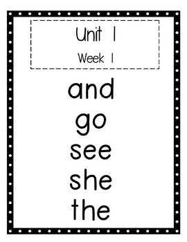 Benchmark Advance 1st Grade High Frequency Word Set