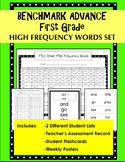 Benchmark Advance 1st Grade High Frequency Word Set (Ca. and National)