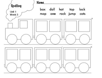 Benchmark Advance 1st Grade Spelling Words