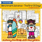 Benchmark Advance -  First Grade The First 20 Days: Review and Routines