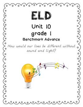 Benchmark Advance 1st Grade Unit 10 ELD Companion