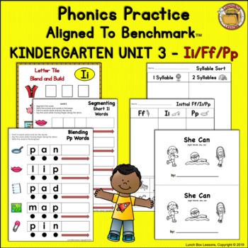 Benchmark Advance© Kindergarten - Unit 3 Phonics Practice