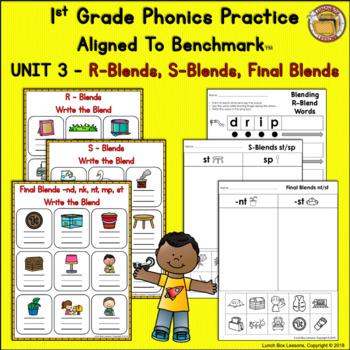 Benchmark Advance© 1st Grade - Unit 3 Phonics Practice