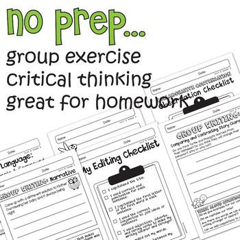 Benchmark Advance - 1st Grade Unit 6 BUNDLE Week 1-3 -Thinking Maps & Activities