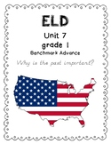 Benchmark Advance 1st Grade Unit 7 ELD Companion