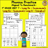 Benchmark Advance© 1st Grade - Unit 7 Phonics Practice