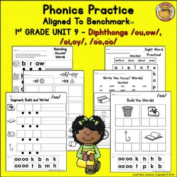 Benchmark Advance© 1st Grade - Unit 9 Phonics Practice