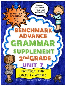 Benchmark Advance 2nd (SECOND) Grade Focus Wall Posters FREEBIE