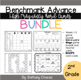 Benchmark Advance 2nd Grade High Frequency Word Games BUNDLE