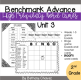Benchmark Advance 2nd Grade High  Frequency Word Games Unit 3