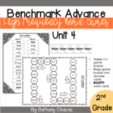 Benchmark Advance 2nd Grade High Frequency Word Games Unit 4