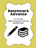 Benchmark Advance 2nd Grade High Frequency Words Assessment
