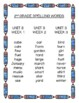 Benchmark Advance 2nd (Second) Grade Spelling Lists for Units 1-10