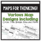 Benchmark Advance-2nd Grade Unit 10 BUNDLE Week 1-3-Maps for Thinking&Activities