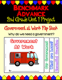 Benchmark Advance Second Grade Unit 1 Govt. at Work Project (California)