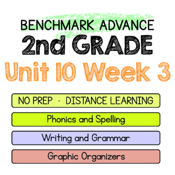Benchmark Advance - 2nd Grade Unit 10 Week 3- Maps for Thinking & Activities