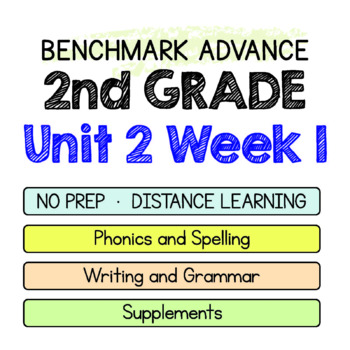 Benchmark Advance - 2nd Grade Unit 2 Week 1 - Maps for Thinking & Activities