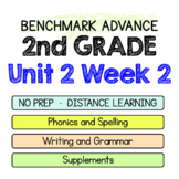 Benchmark Advance - 2nd Grade Unit 2 Week 2 - Maps for Thinking & Activities
