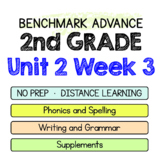 Benchmark Advance - 2nd Grade Unit 2 Week 3 - Maps for Thinking & Activities