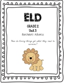 Benchmark Advance 2nd Grade Unit 3 ELD Companion
