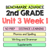 Benchmark Advance - 2nd Grade Unit 3 Week 1 - Maps for Thinking & Activities