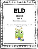 Benchmark Advance 2nd Grade Unit 4 ELD Companion