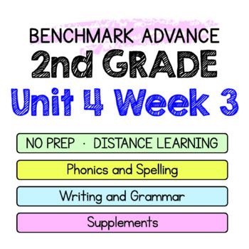 Benchmark Advance - 2nd Grade Unit 4 Week 3 - Thinking Maps & Activities
