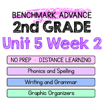Benchmark Advance - 2nd Grade Unit 5 Week 2 - Maps for Thinking & Activities