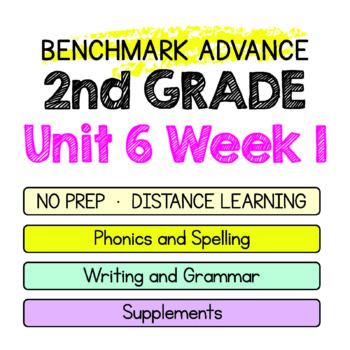 Benchmark Advance - 2nd Grade Unit 6 Week 1 - Maps for Thinking & Activities