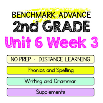 Benchmark Advance - 2nd Grade Unit 6 Week 3 - Maps for Thinking & Activities