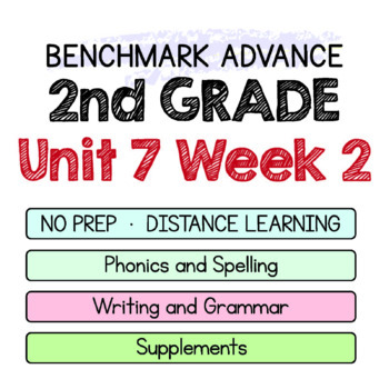 Benchmark Advance - 2nd Grade Unit 7 Week 2 - Maps for Thinking & Activities