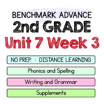 Benchmark Advance - 2nd Grade Unit 7 Week 3 - Maps for Thinking & Activities