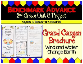 Benchmark Advance 2nd Grade Unit 8 Grand Canyon Brochure Project (Ca.)