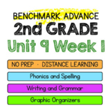 Benchmark Advance - 2nd Grade Unit 9 Week 1- Maps for Thinking & Activities