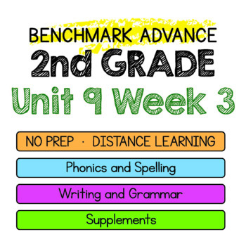 Benchmark Advance - 2nd Grade Unit 9 Week 3- Maps for Thinking & Activities