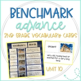 Benchmark Advance 2nd Grade Vocabulary Word, Picture & Def