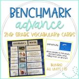 Benchmark Advance Vocabulary Cards 2nd Grade Bundle