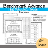 Benchmark Advance 2nd grade High Frequency Word Resource