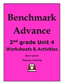 Benchmark Advance 2nd grade Unit 4 worksheets