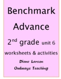 Benchmark Advance 2nd grade Unit 6 worksheets & activities